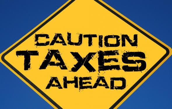 Caution Taxes Ahead